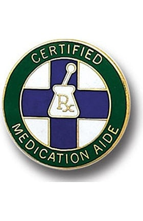 Arthur Farb Certified Medication Aide Pin