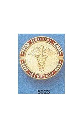 Medical Secretary Pin