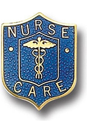 Clearance Arthur Farb Nurse Care Pin