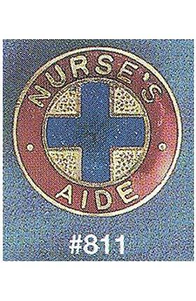 Arthur Farb Nurse's Aide Emblem Pin