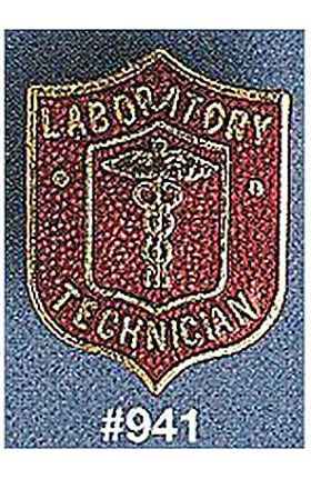 Clearance Arthur Farb Laboratory Technician Pin