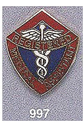 Clearance Arthur Farb Registered Medical Assistant Pin