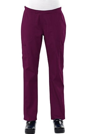 Clearance Safety Weave™ Antimicrobial Basics by AFS Women's Cargo Scrub Pants