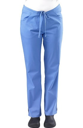 Clearance Safety Weave™ Antimicrobial Stretch Classics by AFS Women's Flare Leg Scrub Pants