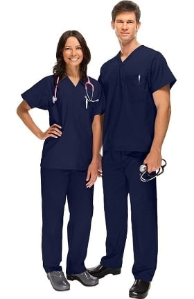 Safety Weave™ Antimicrobial Stretch Classics by AFS Unisex Scrub Set