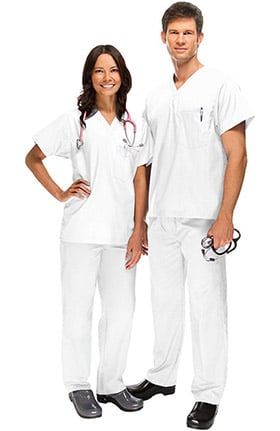 Clearance Safety Weave™ Antimicrobial Stretch Classics by AFS Unisex Scrub Set