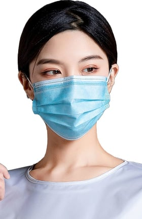 allheart Non Compressed 3 Ply Medical Face Mask Box of 50