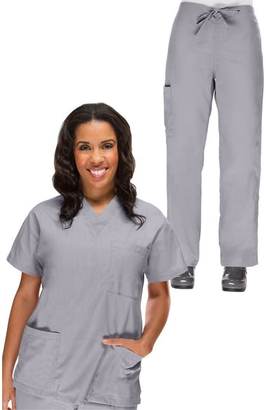 6e2ba7fb1ab Basics by allheart Women s Scrub Set