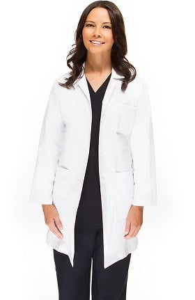"Basics by allheart Women's Full Length 38"" Lab Coat"