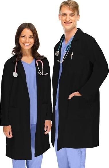 Basics by allheart Unisex 41 inch Lab Coat