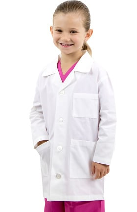 Basics by allheart Unisex Kid's Lab Coat