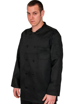 Clearance allheart Unisex Traditional 10 Button Chef Coat
