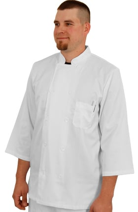 Clearance allheart Unisex ¾ Sleeve Chef Coat