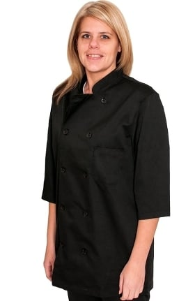 Clearance allheart Unisex ½ Sleeve Chef Coat