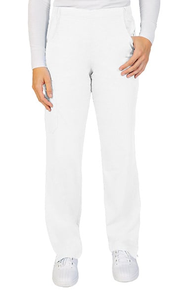 Ascent by allheart Women's Pull On Straight Leg Scrub Pant