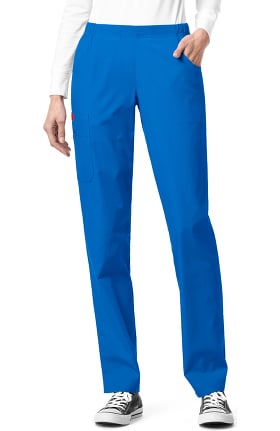 Clearance Ascent by allheart Women's Pull On Straight Leg Scrub Pant