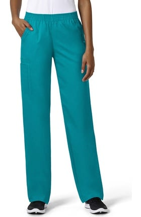 Clearance grace™ Exclusively at allheart Women's Boot Cut Cargo Pull On Scrub Pant