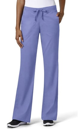 Clearance grace Exclusively at allheart Women's Flare Leg Drawstring Scrub Pant