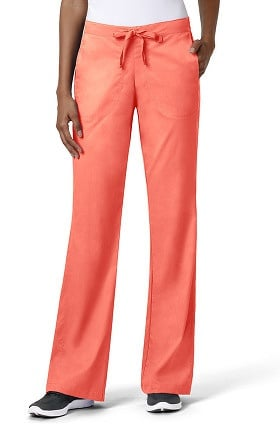 Clearance grace™ Exclusively at allheart Women's Flare Leg Drawstring Scrub Pant
