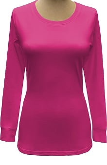 Basics by allheart Women's Long Sleeve Underscrub