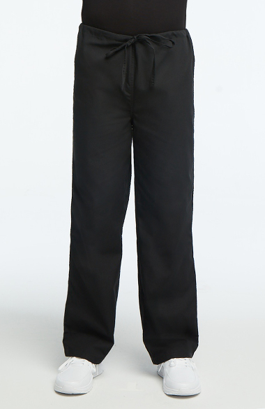 NEW Unisex Medical Scrub Pant Straight Leg Drawstring Ceil BLUE Size 5X 5XL 5X-L