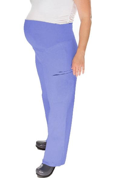 Basics by allheart Women's Maternity Scrub Pants