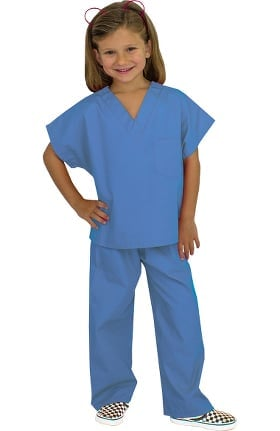Basics by allheart Kid's Scrub Set