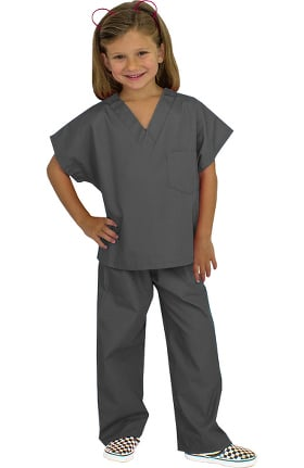 Clearance Basics by allheart Kid's Scrub Set