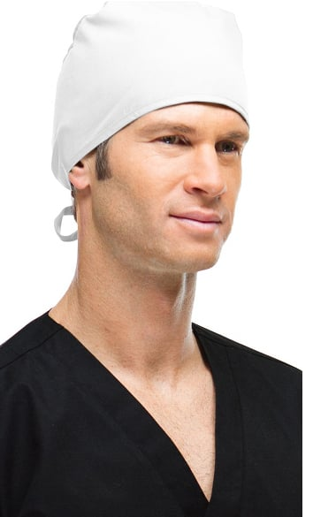 Basics by allheart Unisex Tie Back Scrub Hat