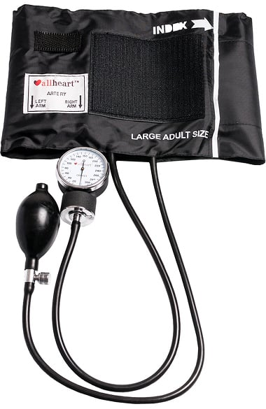 Allheart Standard Blood Pressure Aneroid With Large Adult