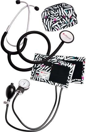 Clearance allheart Blood Pressure Aneroid and Dual Head Stethoscope Combination Set - Nurse Kit Nurse Combo Kit