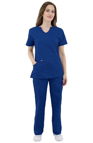 38facc394c8 Quick View. allheart. elate by allheart Women's Mock Wrap Solid Scrub Top &  Elastic Waist Cargo Scrub Pant Set. $26.08. Quick View. Med Couture