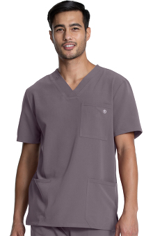Luxe Supreme by allheart Unisex V-Neck Solid Scrub Top