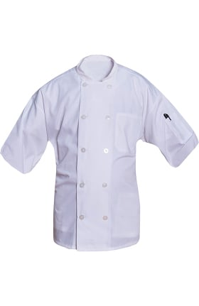Clearance Allstar Unisex 10 Button Short Sleeve Chef Coat