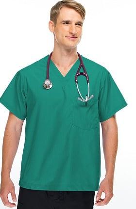 Clearance Allstar Uniforms Unisex V-Neck Scrub Top