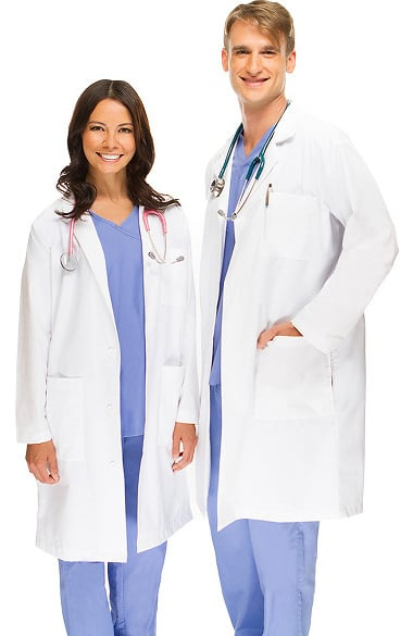 Allstar Uniforms Unisex 41 inch Lab Coat