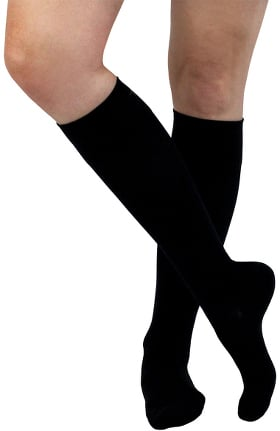 About the Nurse Women's Lite Support 10-15 mmHg Solid Compression Sock