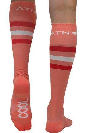 Clearance About the Nurse Women's Knee High 20-30 mmHg Creamsicle Cool Print Compression Sock
