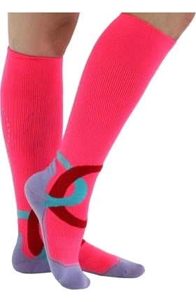 Clearance About the Nurse Women's Sportsedge 20-30 mmHg Knee High Compression Socks