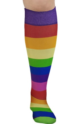 About the Nurse Women's Knee High 20-30 mmHg Pride Print Compression Sock