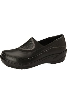 Clearance ANYWEAR Women's Embroidered Slip-On Clog