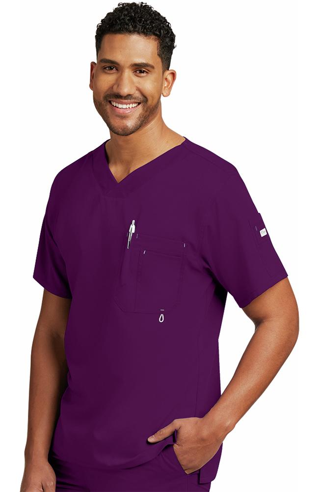 Grey\'s Anatomy™ Men\'s V-Neck Solid Scrub Top | allheart.com