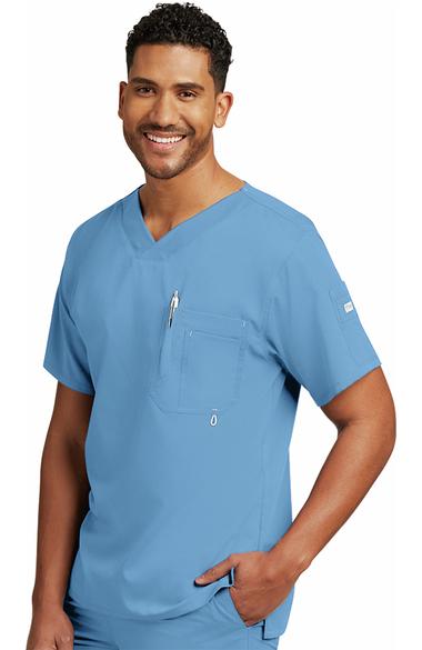 066f6fe4619 Grey's Anatomy™ Men's V-Neck Solid Scrub Top | allheart.com