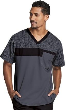 Active by Grey's Anatomy™ Men's V-Neck Solid Scrub Top