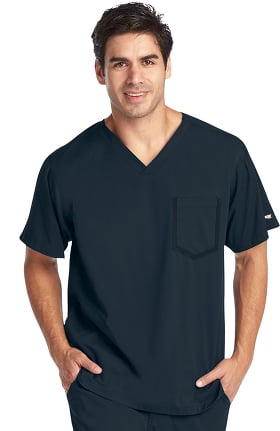 iMPACT by Grey's Anatomy™ Men's Ascend V-Neck Solid Scrub Top
