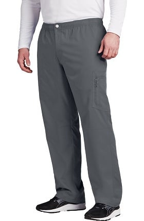 Active by Grey's Anatomy Men's Zip Fly Cargo Scrub Pant