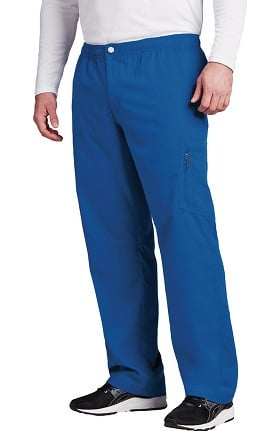 Clearance Grey's Anatomy Classic Men's Zip Fly Cargo Scrub Pant