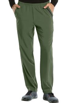 Barco One Men's Elastic Waist Athletic Jogger Scrub Pant