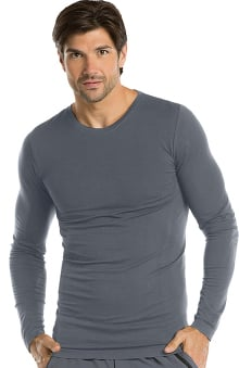 Barco One Men's Long Sleeve Knitted Solid Tee