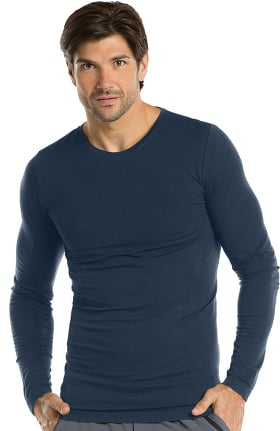 Clearance Barco One Men's Long Sleeve Knitted Solid Tee